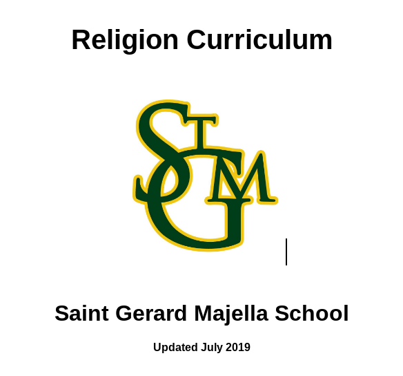 Religion Curriculum K-8